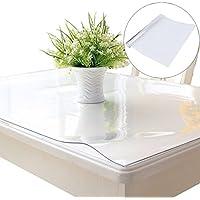 Dreamling Mantel Transparente de PVC para Mesa, 2 mm de Grosor, Impermeable, 100 x 180 cm