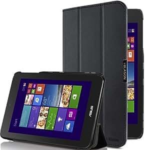 i-Blason Asus VivoTab Note 8 Case - i-Folio Slim Hard Shell Stand Case Cover [Life Time Warranty] (Black)