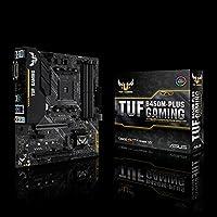 لوحة الأم للألعاب Asus TUF B450M-Plus AMD Ryzen 2 AM4 DDR4 HDMI DVI-D M.2 mATX