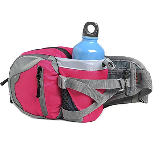 MIAO Outdoor Wasserkocher, purse, multifunktionale Sports Bag, wasserdicht Oxford Tuch, Tasche, Tragetasche pink