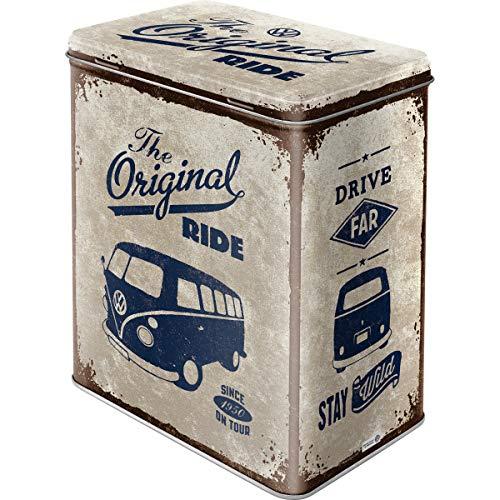 Nostalgic-Art 30125 Volkswagen - VW Bulli - The Original Ride, Vorratsdose L