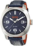 Hugo Boss Orange Cape Town Men's Quartz Analogue Classic Blue Leather Strap 1513410
