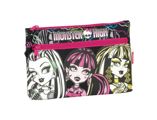 Monster High –  Portatodo dos cremalleras