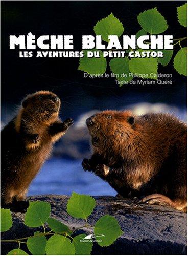 Mèche Blanche : Les aventures du petit castor par Philippe Calderon