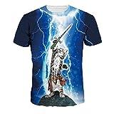 Best La venta de camisetas para hombre - Jiayiqi para Mujer Fresca Caballero del Gato Camiseta Review