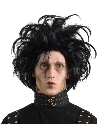 Costume Accessory, Mens Edward Black Wig by Edward Scissorhands (Edward Scissorhand Handschuhe)