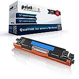 Print-Klex Kompatible Tonerkartusche für HP LaserJet CP 1000Series LaserJet CP 1025Color LaserJet CP 1025NWColor CE311A 126A Blau Cyan - Easy Office Serie