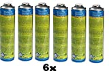 CFH. 6X Gas Universale a 2000 Gas 30% propano e 70% butano Cartuccia Gas a Pressione 330 G 600 ML