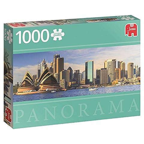 Jumbo Jumbo Premium Puzzle Collection 'Sydney Skyline' 1,000 Piece Panoramic Jigsaw Puzzle