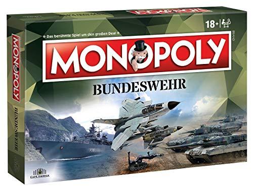 Café Viereck ® Monopoly Bundeswehr Edition - das perfekte Spiel für jeden - Ohne Geld Monopoly