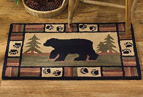 Park Designs Adirondack Bär Süchtig Teppich, 61x 91,4cm