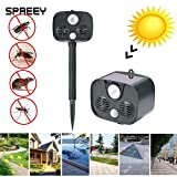 Lepakshi Infrared New Tech Eco Friendly Ultrasonic Driver Animal Repeller Animal