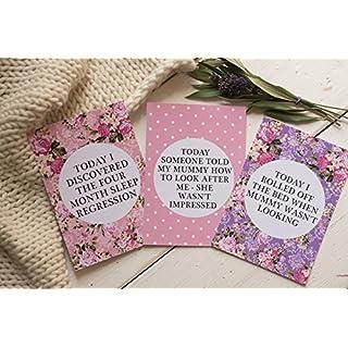 Alternative Baby Journey Cards ® - Bright Floral DD021
