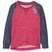 Odlo Shirt l/s Crew Neck Revolution TW Warm K Ropa Interior, Infantil, Sangria-Navy New Melange, 80