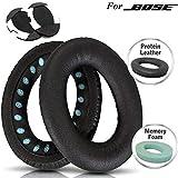 WADEO Coussinets de Rechange - Oreillette Bose Compatible avec Quietcomfort 2 /...