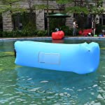 Siphly Inflatable Lounger, Air Sofa Hammock with Headrest, Waterproof & Anti-Air Leaking, Comfortable Inflatable Couch for Pool & Beach Parties, Traveling Camping Picnics & Backyard, Music Festivals 15