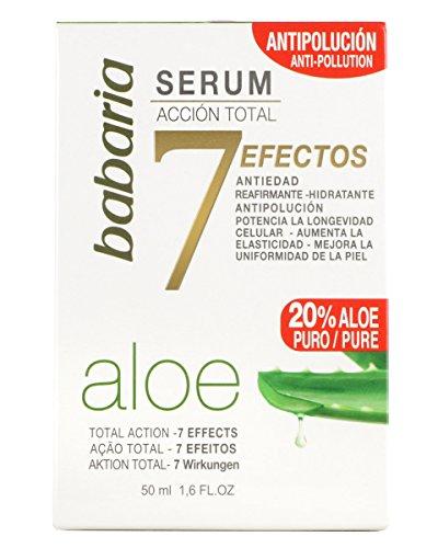 babaria Aloe Vera Gesichtsserum 7 Wirkungen 50 ml