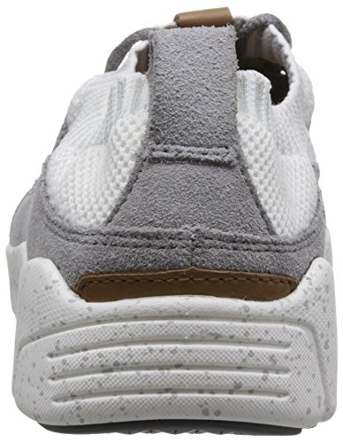 Clarks Herren Triactive Knit Sneaker Grau (Grey)