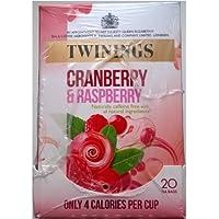 Twinings arándano y frambuesa Bolsitas de té - 4 x 20 de