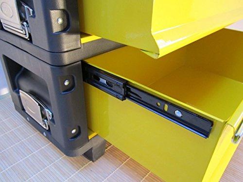 Metall Werkzeugtrolley Werkzeugkasten Werkstattwagen XL Type B305ABD von AS-S - 7