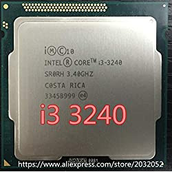 DIPU WULIAN I3-3240 i3 3240 CPU 3.4 GHz 3M LGA1155 55W Desktop Dual Core SR0RH CPU