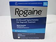 Men's Rogaine Extra Strength Hair Regrowth Treatment, Unscented 3 month supply