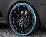 Foliatec 2700 Auto Reifenspray Reifenglanz Reifen Glanz Gel Kunststoffpflege Gummipflege ReifenGlanzSpray, Reifenpfleger Magic Green 400 ml