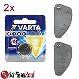 2 Stück VARTA Autoschlüssel Batterie für Alfa Romeo 147 156 166 Klappschlüssel