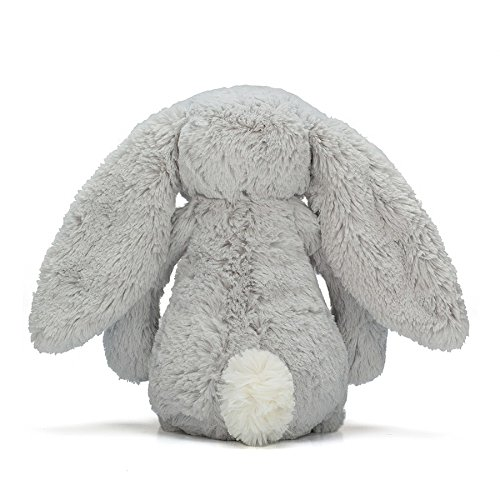Image of Jellycat Silver Bashful Bunny Medium Soft Toy