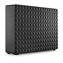 Seagate Expansion Desktop, Unità Disco Esterna Desktop da 4 TB, USB 3.0 per PC Desktop, PC Portatili e Mac (STEB4000200)