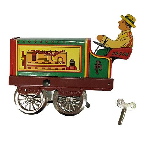 Jouet Mécanique Ancien Métal Tôle D'étain Horlogerie Collection Cadeaux pour Enfants