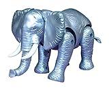 #8: Kids Bazaar Motor Driven Elephant (Silver)