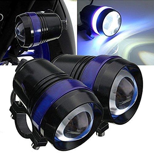 Tuincyn U3-LED-Scheinwerferleuchte für Motorräder, wasserdicht, 6000K, weiß, LED-Birne für Stirnlampe, Tageslichtprojektor, als Arbeitslicht, Lauflampe, 2 Stück