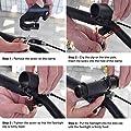 LED Fahrradlicht USB Wiederaufladbare T6 LED Taschenlampe wasserdicht 1000 Lumen Fahrradlampe Set Frontlicht(3 Modus) für Radfahren Camping Outdoor Sport Jagen wandern von Wasafire