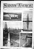 1905 Gisements De Pétrole Américains Scientifiques Construisant le Tuyau de Canalisation de Réservoir de 35.000 Barils