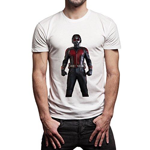 The Ant Man Captain America 3 Civil War Edition Herren T-Shirt Weiß