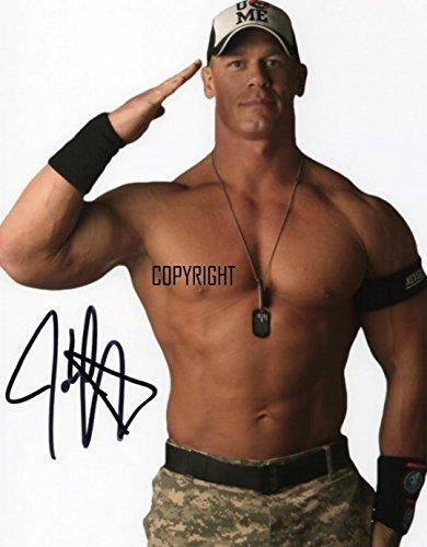 THEPRINTSHOP Limited Edition, John Cena Wrestling-Foto + Cert, mit Autogramm