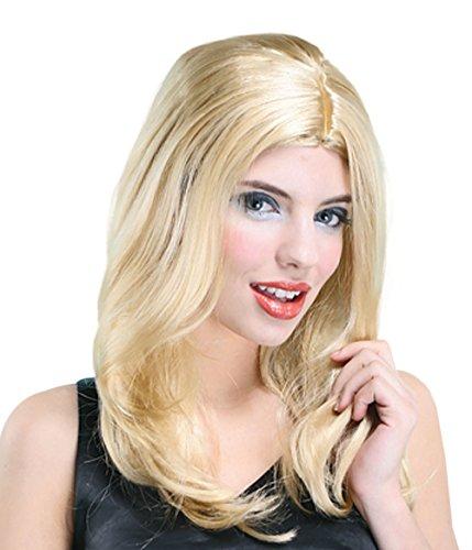 Bristol Novelty bw558Lisa Perücke, blond, eine Größe