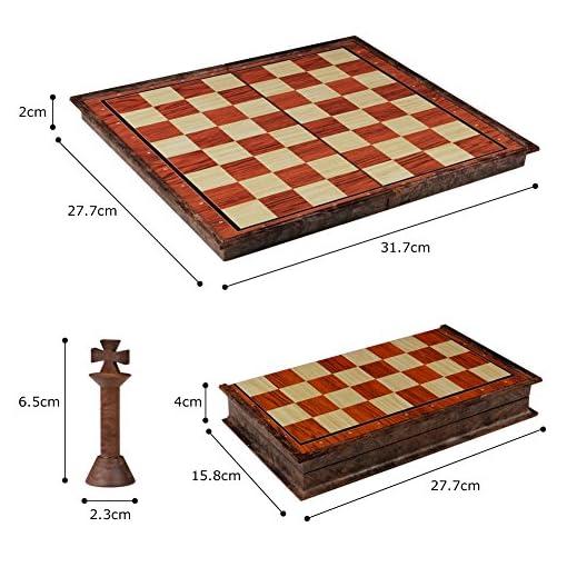 Schachspiel-Magnetisch-Schachbrett-Einklappbar-fr-Kinder-ab-6-Jahren
