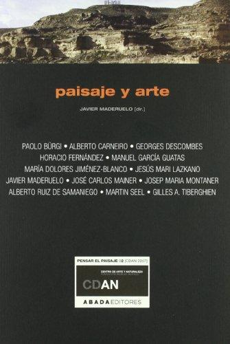 Paisaje Y Arte (Lecturas de paisaje)