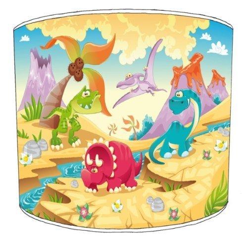 Premier Lampshades–dinosaurio Techo Amigos Niños,, 30,5 cm