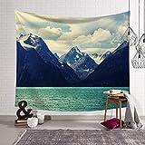 Unbekannt Wandteppiche Berge Landschaft Wälder Tapisserie Wandbehang Tapisserien Hippie Hippie Tapete Home Decoration 150X230Cm Als Foto