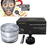 Face Mask,MML 1Bottle/100g Mineral-Rich Magnetic Face Mask Pore Cleansing Removes Skin Impurities with Iron Based Skin Revitalising Magnetic Age-Defier Formula
