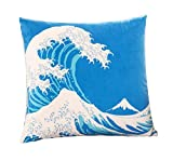 Best Blue Wave Soft Pillows - Lovely Soft And Durable Hold Pillow Decorative Throw Review