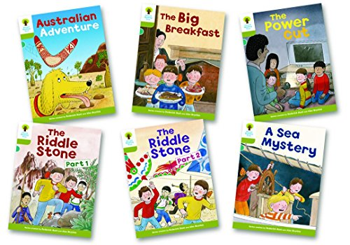 Oxford reading tree the best amazon price in savemoney oxford reading tree level 7 more stories b pack of 6 fandeluxe Gallery