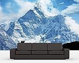 Selbstklebende Fototapete - Klettern im Himalaya - 310x200 cm - Wandtapete – Poster – Dekoration – Wandbild – Wandposter - Bild – Wandbilder - Wanddeko
