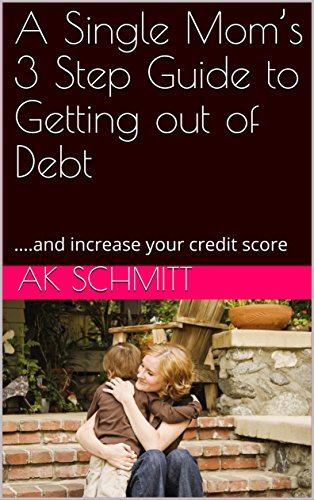 Single-mom-budget (A Single Mom's 3 Step Guide to Getting out of Debt: ….and increase your credit score (English Edition))