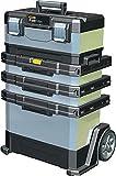 Rollende Werkstatt B568xT389xH893 mm Kunststoff und Metall abnehmbare Werkzeugbox FATMAX