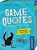 KOSMOS 692926 - Game of Quotes, Verrückte Zitate, Witziges Kartenspiel von...