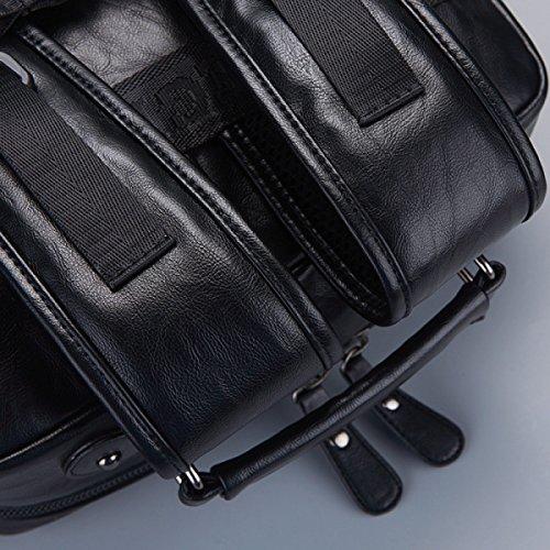 Koreanischen Männer Art Und Weise Beiläufigen Rucksack Student Taschen Black